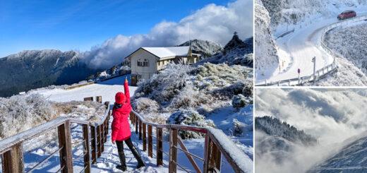 【合歡山雪景】超美~合歡山的銀白雪世界全記錄!武嶺、松雪樓、合歡尖山、滑雪山莊全都蓋上夢幻白雪美景! @Via's旅行札記-旅遊美食部落格