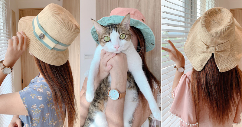 韓國帽子》夏季新款帽子團~質感遮陽帽、草編帽、登山漁夫帽報到! @Via's旅行札記-旅遊美食部落格